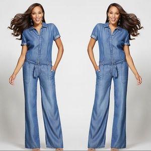 Gabrielle Union Collection - Jumpsuit - Blue Jewel